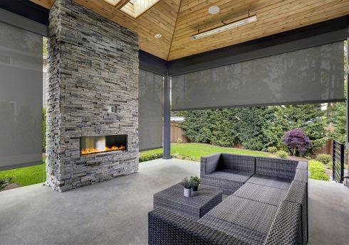 gray-fireplace